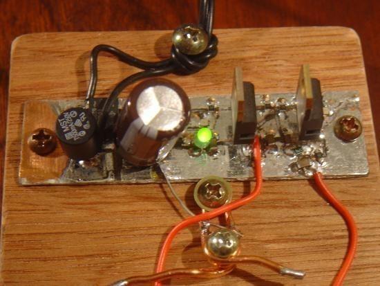 Chargeur de piles non rechargeable realisation 4
