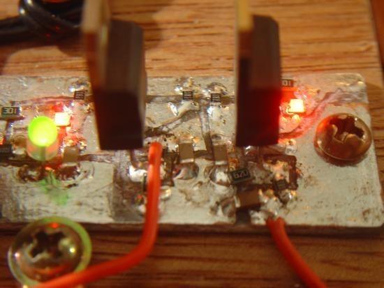 Chargeur de piles non rechargeable realisation 5