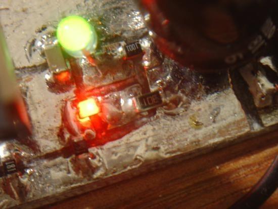 Chargeur de piles non rechargeable realisation 7