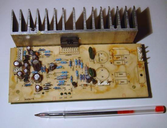 Realisation ampli Hifi 2 x 20W LM1876 6