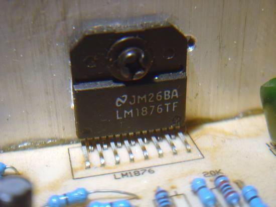 Realisation ampli Hifi 2 x 20W LM1876 7