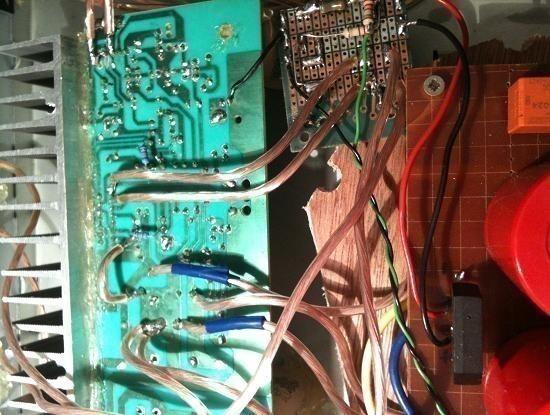 Realisation ampli Hifi 2 x 20W LM1876 10