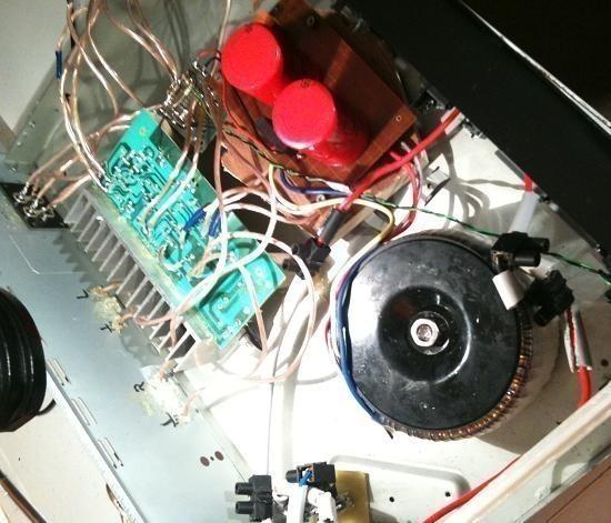 Réalisation ampli Hifi 2 x 20W LM1876