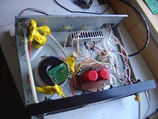 Realisation simple ampli Hifi 2 x 20W LM1876 11