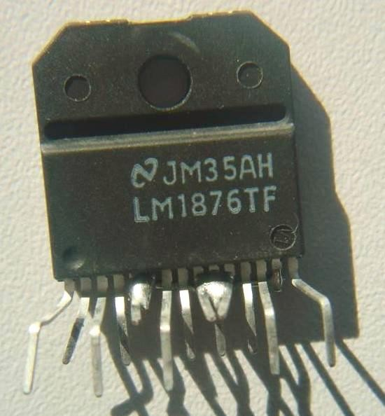 Realisation simple ampli Hifi 2 x 20W LM1876 4