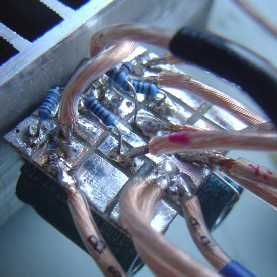 Realisation simple ampli Hifi 2 x 20W LM1876 9