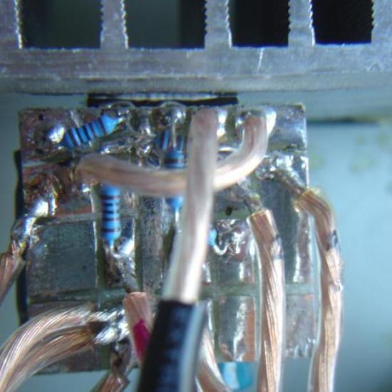 Realisation simple ampli Hifi 2 x 20W LM1876 10