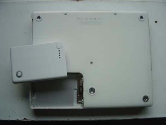Recuperer un disque dur de Mac ibook 1