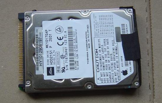 Recuperer un disque dur de Mac ibook 10