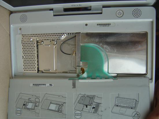 Recuperer un disque dur de Mac ibook 6