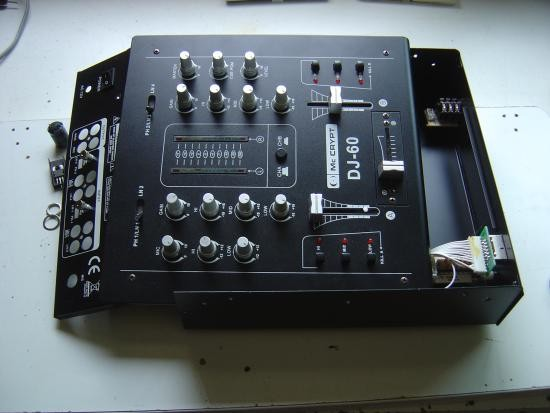 adaptateur 12v ac pour table de mixage 1