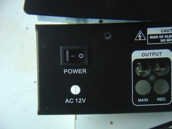 adaptateur 12v ac pour table de mixage 4