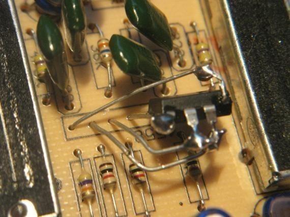 adapter un ampli op dip sur une empreinte sip 1
