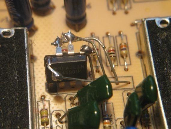 Adapter un ampli op DIP sur une empreinte SIP