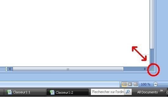 Comment afficher les onglets d un classeur excel 2007 - Comment customiser un classeur ...