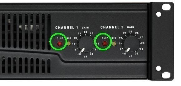 ajouter une led rouge clip sur ampli 2