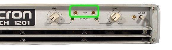 ajouter une led rouge clip sur ampli 3