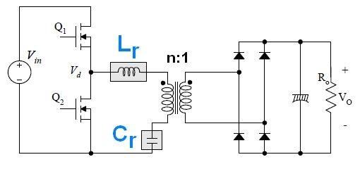 alimentation a decoupage demi pont a resonance llc 0
