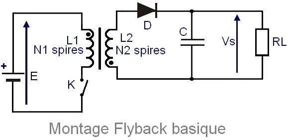alimentation a decoupage flyback 1