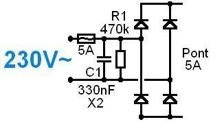 Alimentation à découpage pour ampli audio 200W à 500W