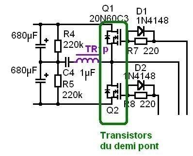 alimentation a decoupage pour ampli audio 200w a 500w 7
