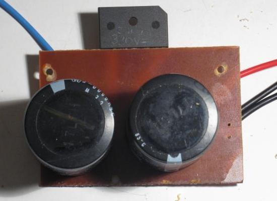alimentation a doubleur de tension pour ampli audio 1