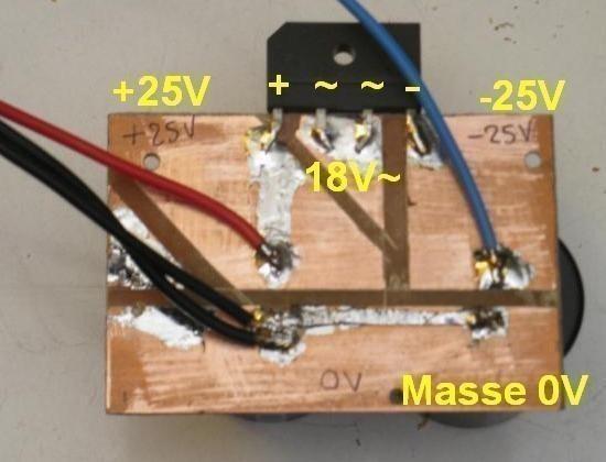alimentation a doubleur de tension pour ampli audio 3
