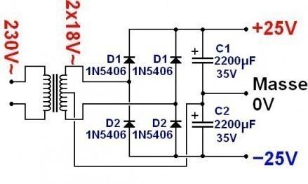 alimentation d ampli par batterie 1