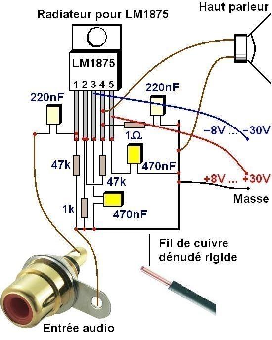 alimentation d ampli par batterie 3