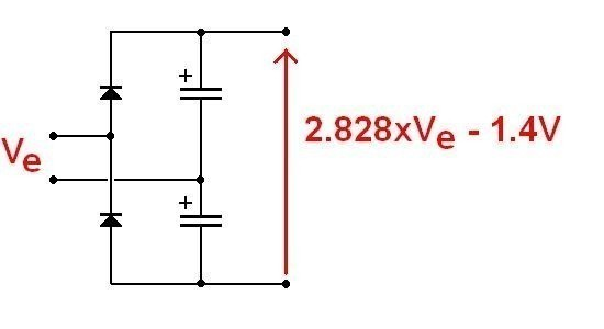alimentation ultra simple pour ampli audio 1