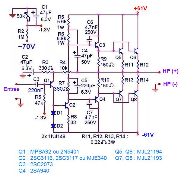 ampli 300w schema et typon 0