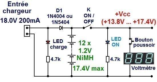 ampli a piles rechargeables 1