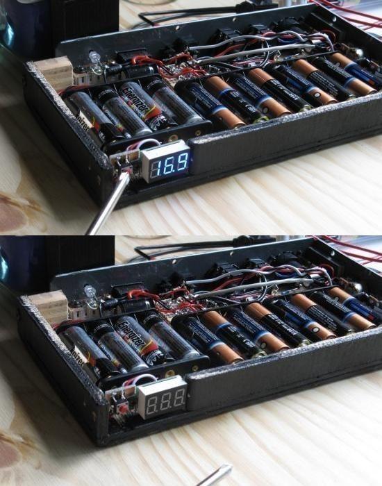 ampli a piles rechargeables 15