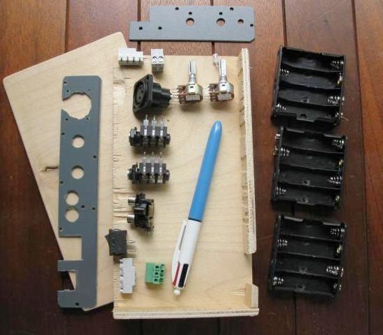 ampli a piles rechargeables 3