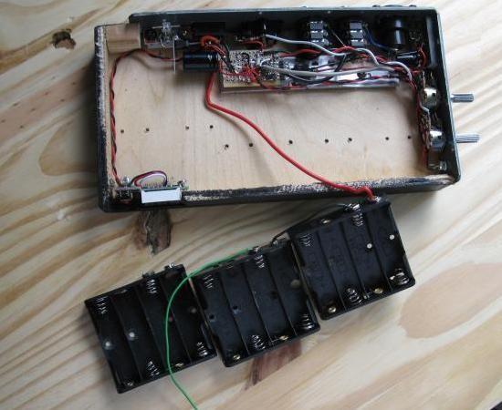 ampli a piles rechargeables 6