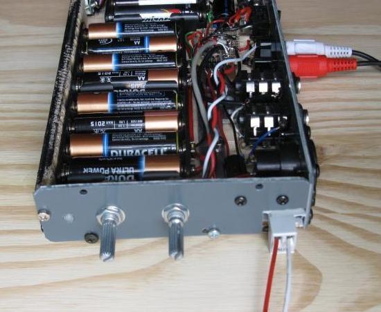 ampli a piles rechargeables 10