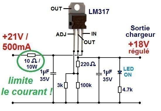 Ampli à piles (rechargeables)