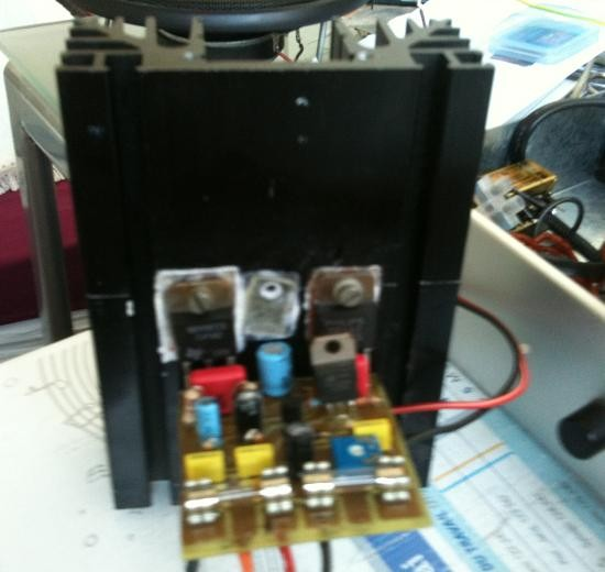 Ampli audio 100W : réalisation rapide