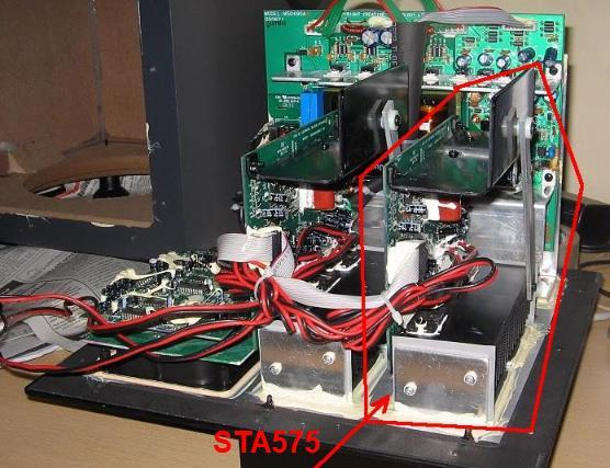 ampli bash sta575 5