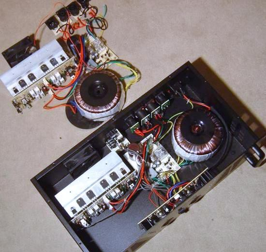 Ampli de sono Ibiza AMP 800