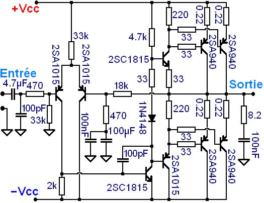 ampli de sono ibiza schema 2