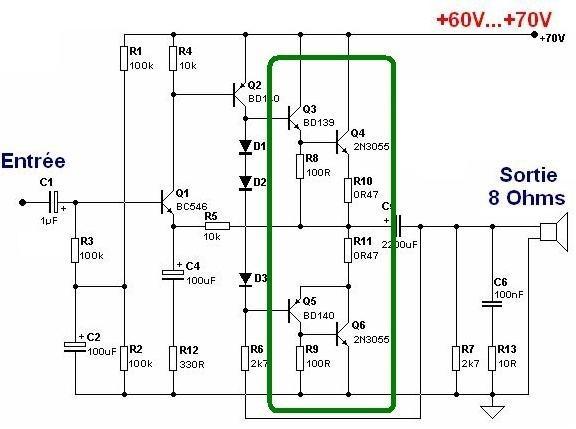 ampli guitare 50w conception 5