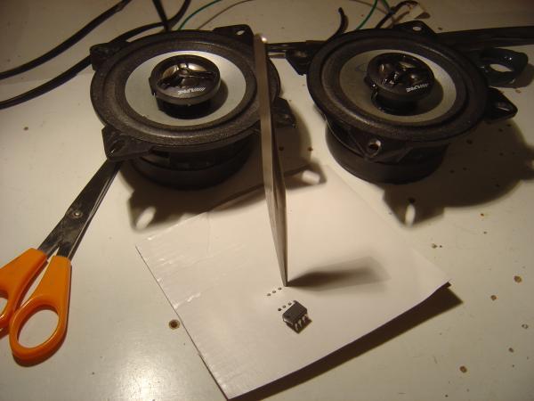 ampli lm386 1w ultra simple 0