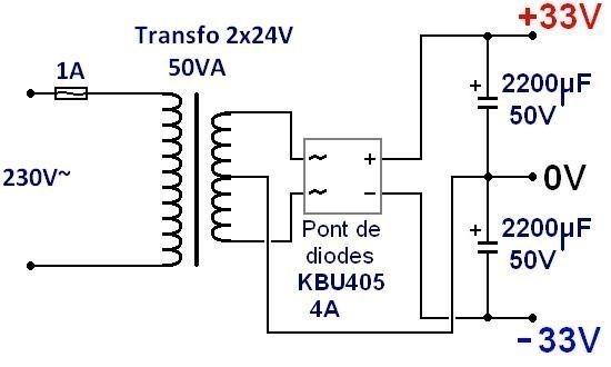 ampli lm3886 realisation simple 3