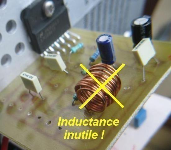 ampli lm3886 schema ultra simple 4