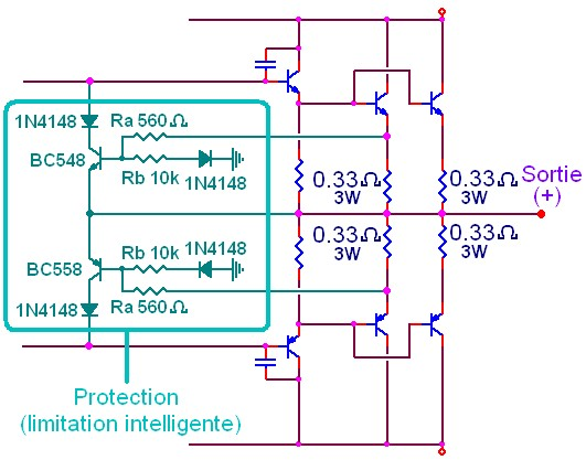ampli simple 500w a 1000w schema 2
