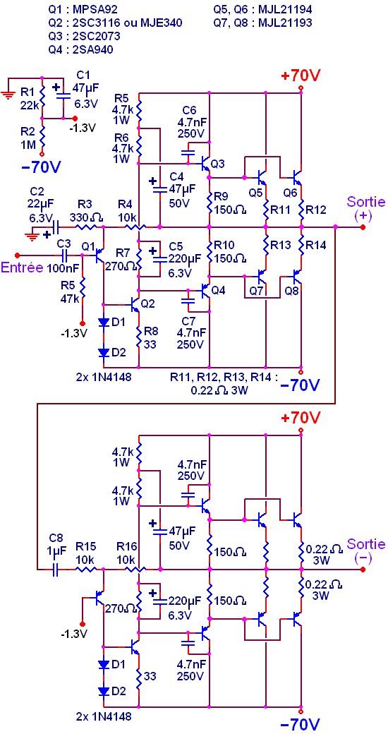 ampli simple 500w a 1000w schema 0
