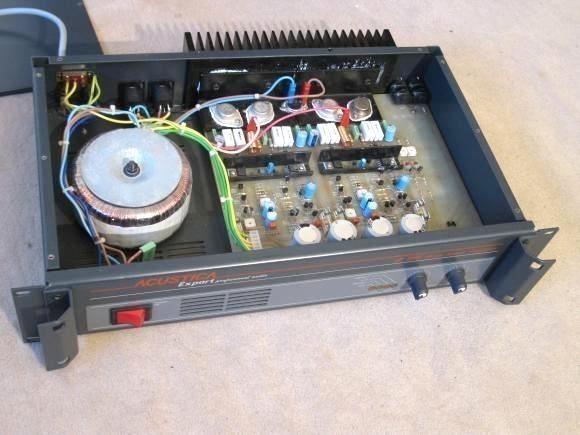 ampli sono 2 x 100w acustica realisation 0