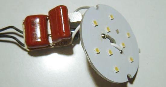 ampoule led 3w schema et composants 2
