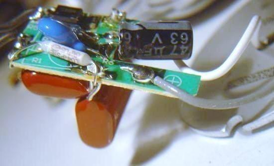 ampoule led 3w schema et composants 5